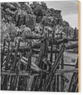 Rial Chew Ranch 3 Wood Print