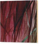 Ribbon And Lace Wood Print