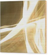 Ribbon Streaks Wood Print