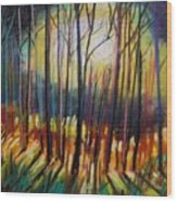 Ribbons Of Moonlight Wood Print