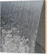 Ribbons Of Water Wood Print
