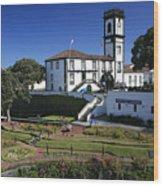 Ribeira Grande Azores Wood Print