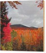 Rich Fall New Hampshire Colors Wood Print