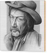 Richard Boone 3 Wood Print