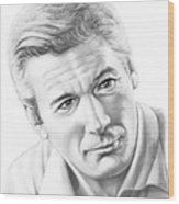 Richard Gere Wood Print
