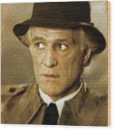 Richard Harris, Vintage Actor Wood Print