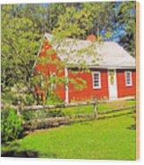 Richard Hunnewell House, Scarborough Maine Wood Print
