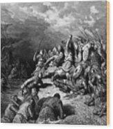 Richard I The Lionheart Delivering Jaffa 1877 Wood Print