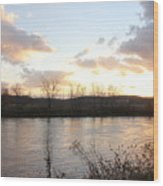 Richford Sunset  Wood Print
