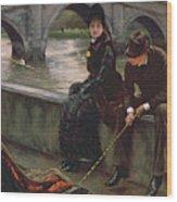 Richmond Bridge Wood Print