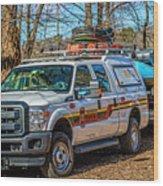 Richmond Fire And Ems Equipment 7461 Wood Print