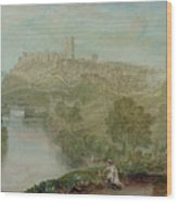 Richmond In Yorkshire Wood Print by Joseph Mallord William Turner