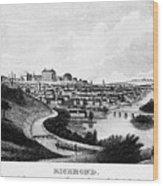 Richmond, Virginia, 1856 Wood Print