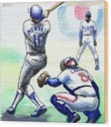 Rick Monday Wood Print