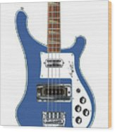 Rickenbacker Bass 4001 Body  Wood Print