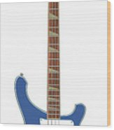 Rickenbacker Bass 4001  Wood Print
