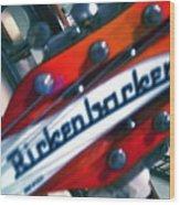 Rickenbocker Wood Print