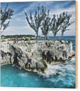Rick's Cafe Negril Jamaica Wood Print