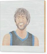 Ricky Rubio Wood Print