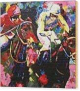 Ride To Glory Wood Print