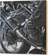 Rider Wood Print