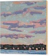 Ridge Stratocumulus Wood Print