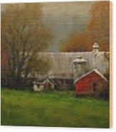 Ridgefield Farm Wood Print