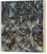 Ridley Creek Wood Print