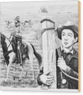 Rifleman-mark-mccain Wood Print