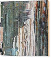 Riflessi Bianchi Wood Print