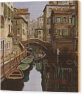 Riflesso Scuro Wood Print