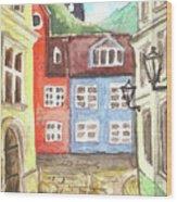 Riga Wood Print