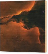Right - Triptych - Stellar Spire In The Eagle Nebula Wood Print