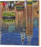 Rijksmuseum Reflection Wood Print