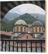 Rila Monastery Wood Print