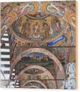 Rila Monastery In Bulgaria Wood Print