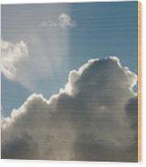 Rim-lit Cloud Wood Print