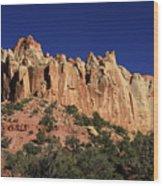 Rimrocks, State Of Utah Wood Print