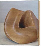 Rimu Abstract Wood Print by Peter Hill