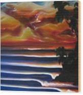 Rincon2 Wood Print