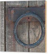 Ring Knock Wood Print