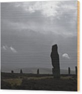 Ring Of Brodgar Orkney Scotland  Wood Print
