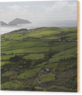 Ring Of Kerry Ireland Wood Print