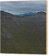 Ring Of Steall Wood Print