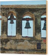 Ringing Bells Wood Print