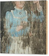 Ringing The Dinnerbell Wood Print