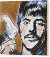 Ringo Wood Print