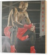 Ringside With Jermain Wood Print