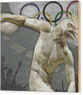 Rio 2016 Wood Print