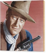 Rio Bravo, John Wayne, 1959 Wood Print by Everett